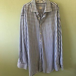 peter millar check long sleeve shirt